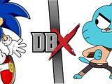 Sonic VS Gumball
