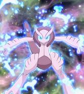 Mega Mewtwo X anime