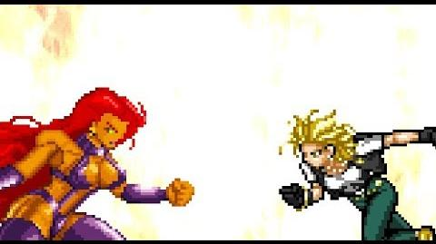 ANDROID 18 VS STARFIRE