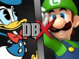 Donald Duck vs Luigi