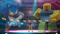 Archie Sonic vs Robloxian HYPED