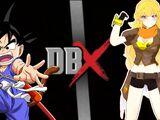 Kid Goku vs Yang Xiao Long