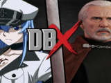 Esdeath vs Count Dooku