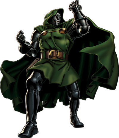 Doctor Doom Portrait Art