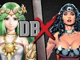 Wonder Woman vs Palutena