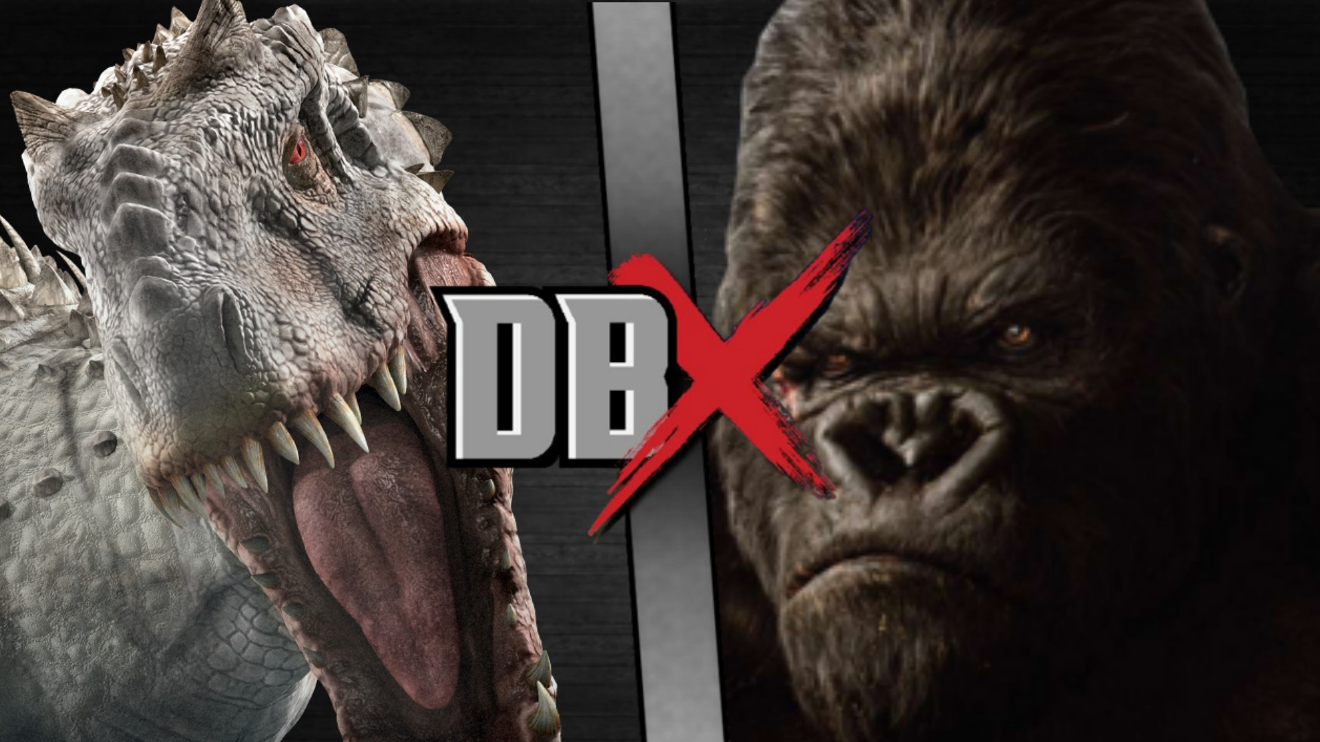 King Kong VS Indominus...