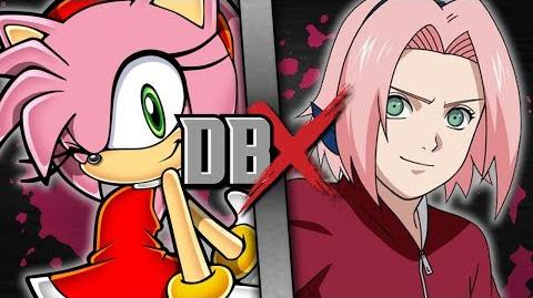 Amy VS Sakura DBX