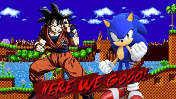 Goku vs Sonic | DBX Fanon Wikia | Fandom