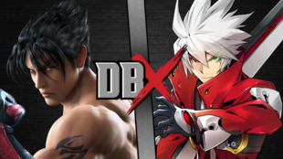DBX - Jin Kazama VS Ragna The Bloodedge 2