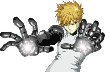 Genos the cyborg by accelerator16-d5rbjsf
