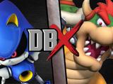 Metal Sonic vs Bowser
