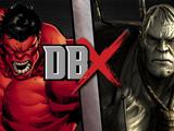 Red Hulk vs Solomon Grundy