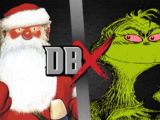 Father Christmas vs the Grinch