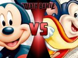 Mickey Mouse vs. Mighty Mouse