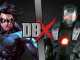 Nightwing vs War Machine
