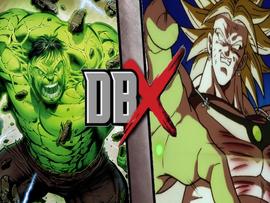 Hulk vs broly