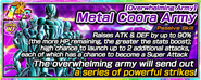 Overwhelming Army Metal Coora Army