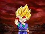 Extreme Z-Battle: Courage Awakened Super Saiyan Goku Jr.