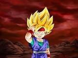 Extreme Z-Battle: Courage Awakened Super Saiyan Goku Jr.
