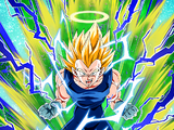 Desperate Final Battle Super Saiyan 2 Vegeta (Angel)