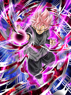 Stained Rose Super Saiyan Rosé Goku Black