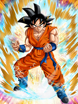Top-Tier Training Goku