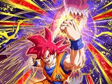 Divine Power Within Super Saiyan God Goku