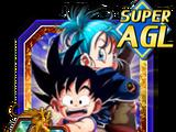 The Original Golden Duo Goku (Youth) & Bulma (Youth)