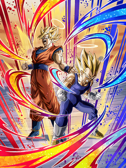 TUR Super Saiyan Goku (Angel) and Super Saiyan Vegeta (Angel)