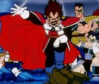 King Vegeta - Father of Vegeta