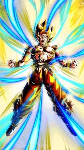 Miracle Making Super Saiyan Super Saiyan Goku Dragon Ball Z Dokkan Battle Wiki Fandom