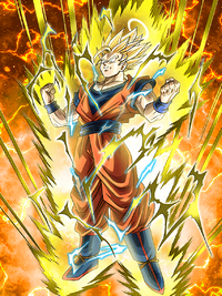 24 Hours Resurrection Super Saiyan 2 Goku (Angel)