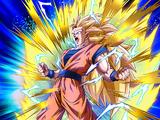 Stunning Metamorphosis Super Saiyan 3 Goku