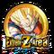 AGL SS Goku Z-Area Gold