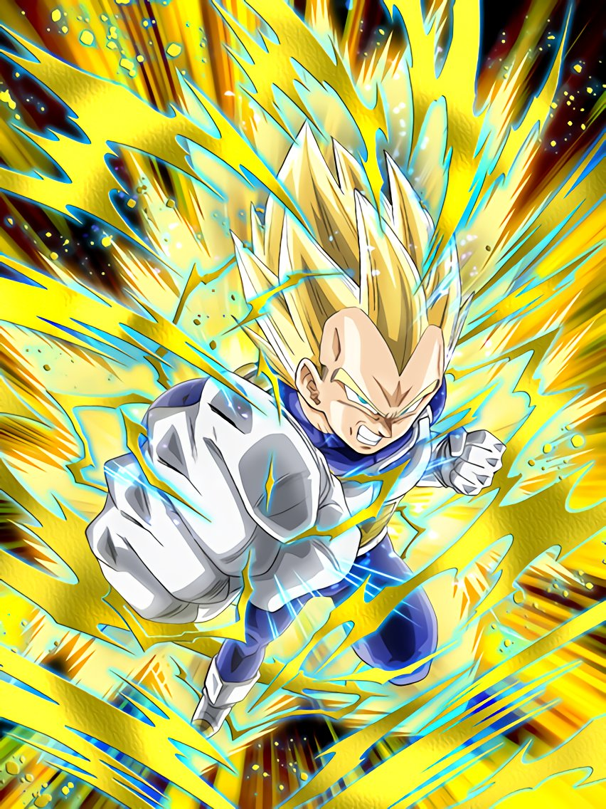 Gifted Warriors Exaltation Super Saiyan Vegeta Dragon Ball Z