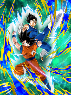 SSR Goku and Vegeta