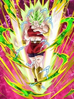 Perilous Potential Strength Kale Berserk Dragon Ball Z