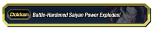 Battle-Hardened Saiyan Power Explodes
