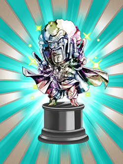 Worth 5,000,000 Zeni Hercule Statue (Diamond)