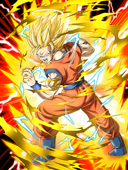 Breaking Barriers Super Saiyan 2 Goku (Angel)