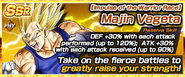 Impulse of the Warrior Race Majin Vegeta