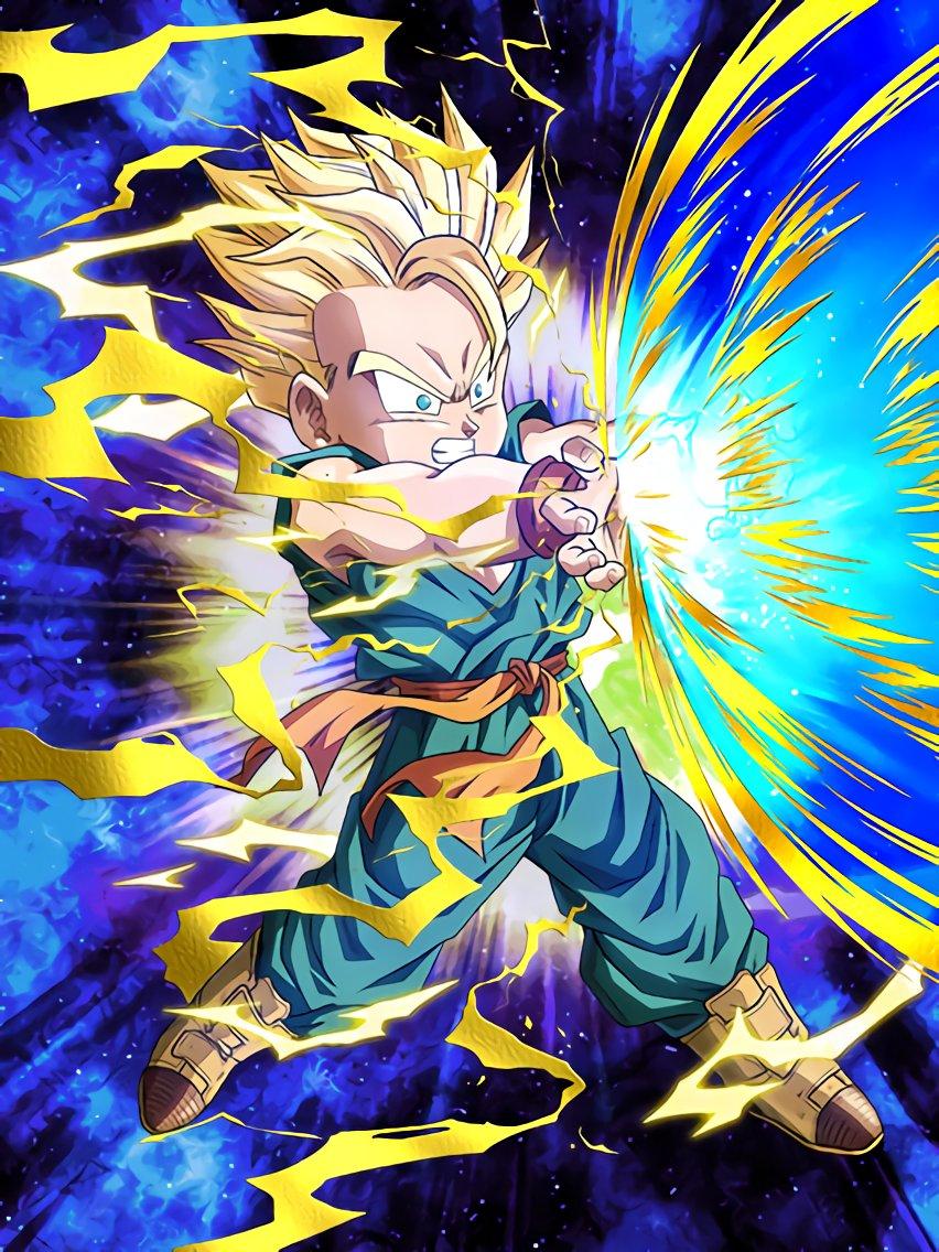 glorious battle super saiyan trunks kid dragon ball z