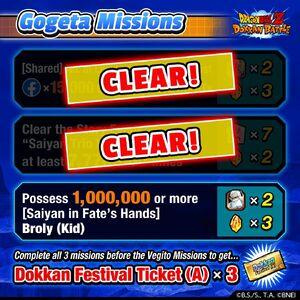 Double God Campaign Gogeta