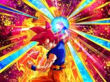 Flaring Battle Impulse Super Saiyan God Goku