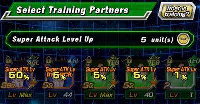 Level up super attack gohan