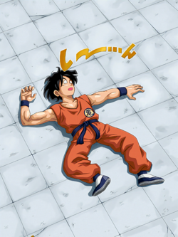 TEQ TUR April Fools Yamcha JP art