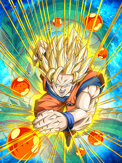 All-Out Charge Super Saiyan Goku