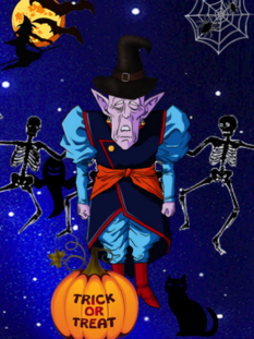 Halloween Elder Kai level up