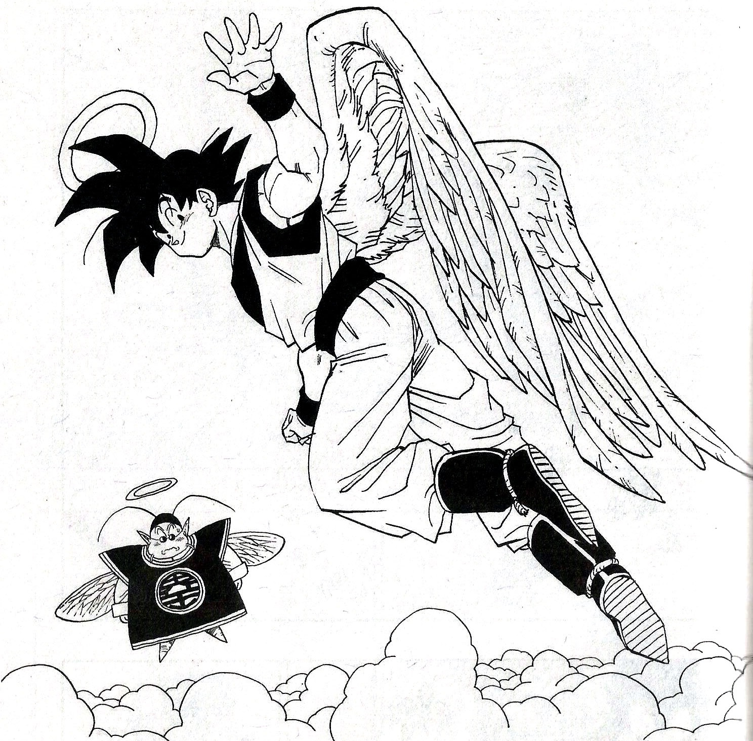 NEW Angel Goku AGL Card Art Origin