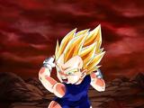 Extreme Z-Battle: Young Saiyan Descendant Super Saiyan Vegeta Jr.